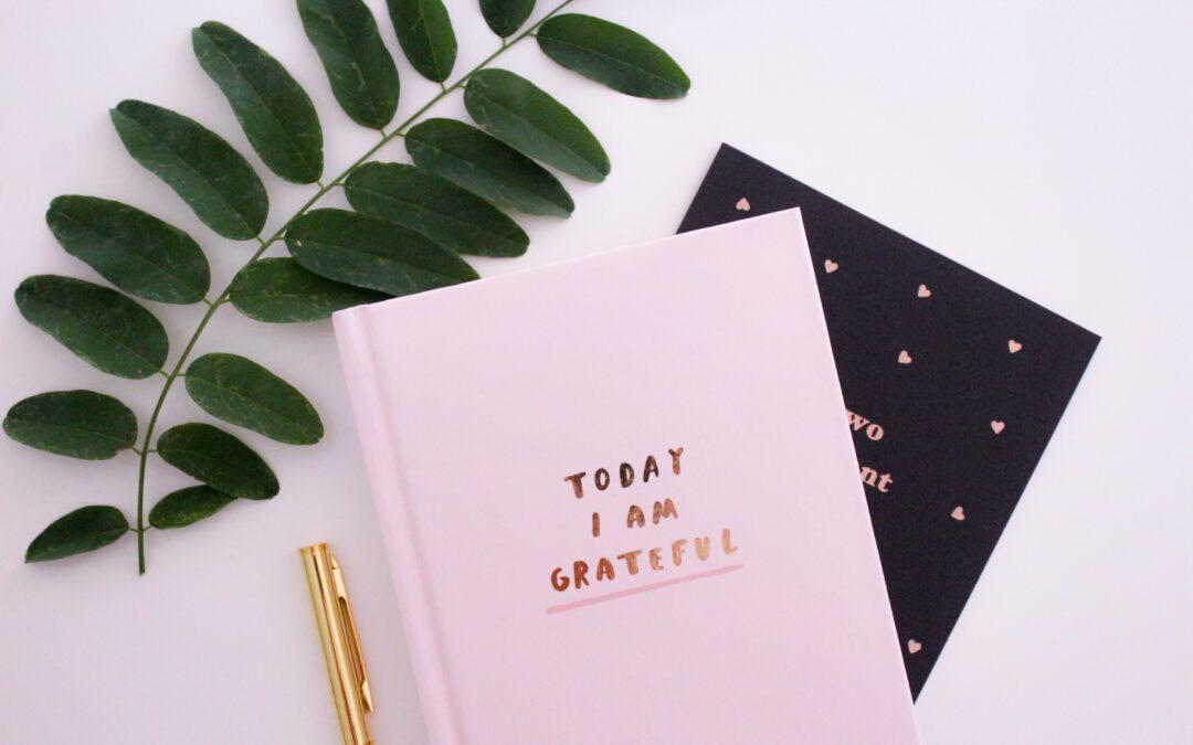 DAILY Gratitude Journal Writing