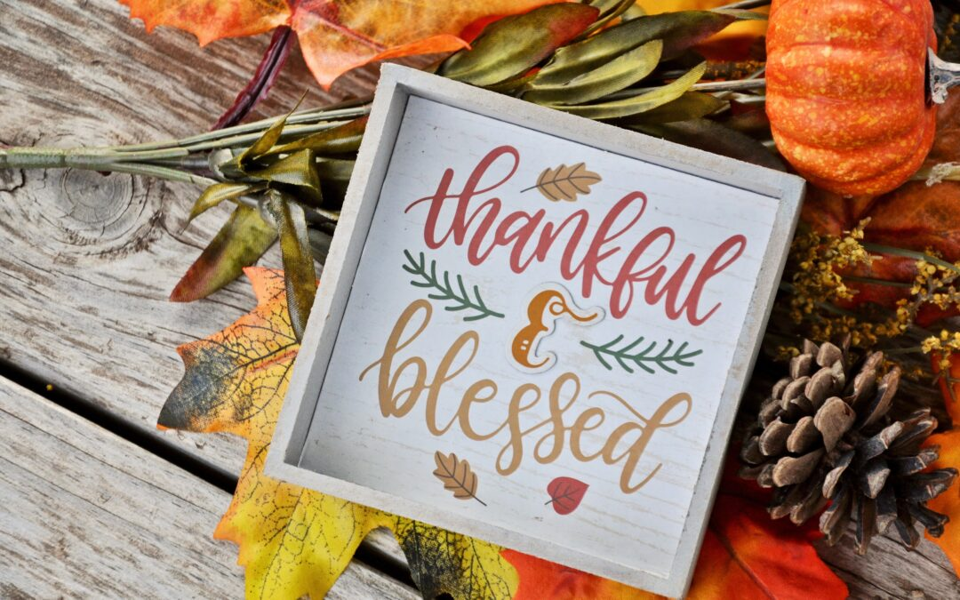 GRATITUDE – life is all about being grateful